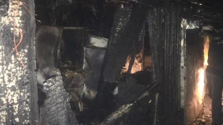 Стали известны подробности пожара в Лунино, где погиб 2-летний ребенок