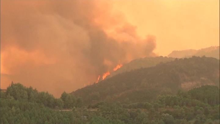Пожарный самолет потерпел крушение в Греции