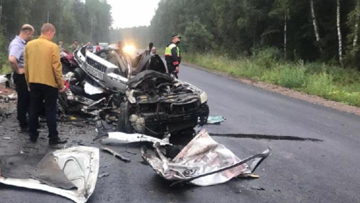 В трагическом ДТП под Ярославлем погибли три человека