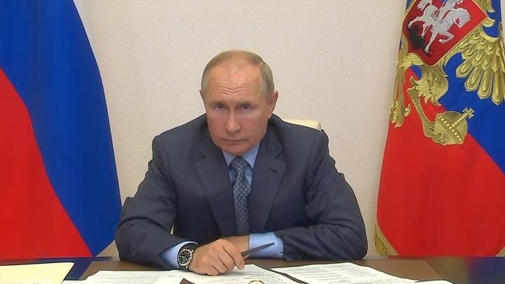 Путин дал поручения в связи с природными бедствиями