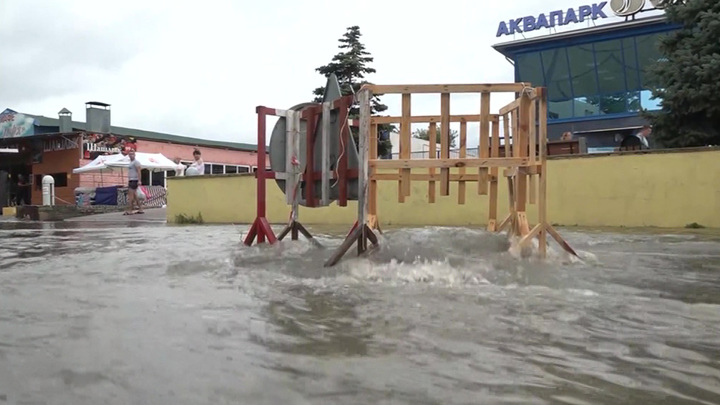 Крымский район готовится к эвакуации из-за подъема реки Кабанки