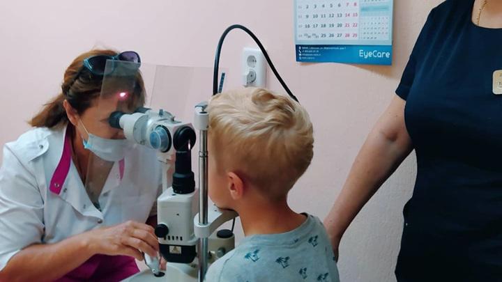 Ростовские врачи вылечили мальчику глаз, сильно поврежденный крысой