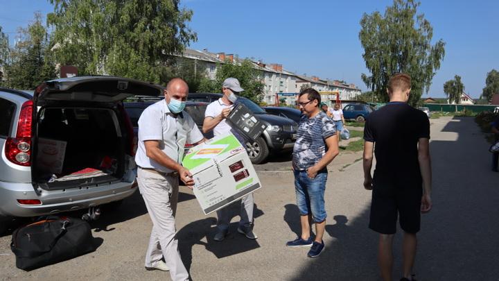 Общественники Марий Эл оказали помощь многодетной семье