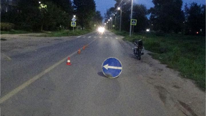 В Ивановской области 12-летний мальчик сбил на мопеде пешехода