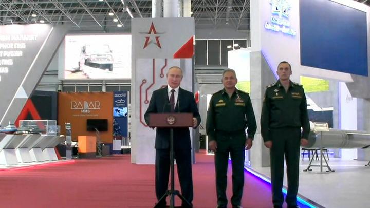 Путин: российские ракетчики перевооружились на 80%