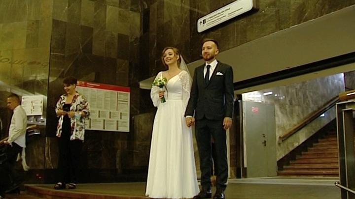 Более 33 тысяч столичных молодожёнов заключили брак летом этого года