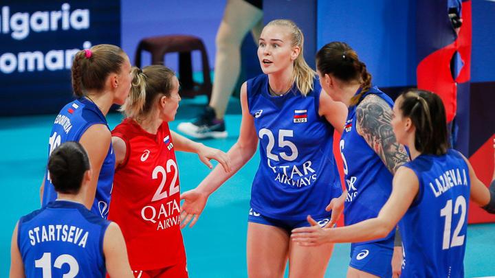 Российские волейболистки вышли в 1/4 финала чемпионата Европы