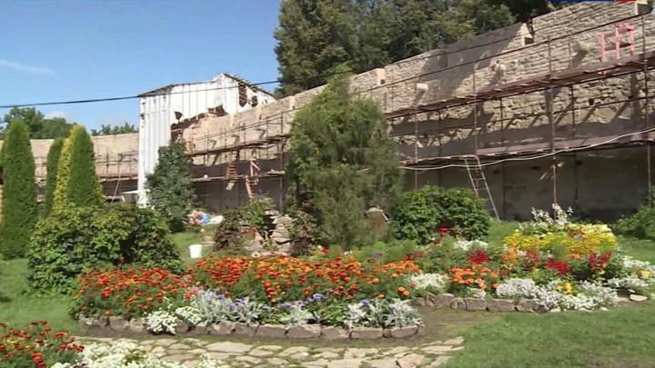 В Псковской области реставрируют средневековую крепость