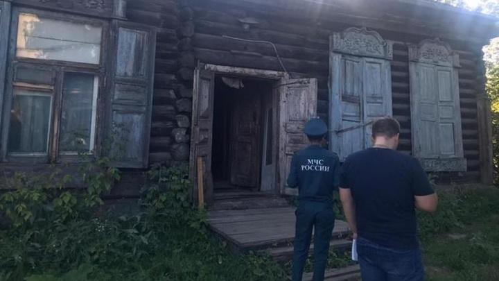 В Новосибирске частично обрушилось перекрытие девятиквартирного дома