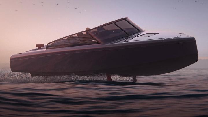 """В Швеции представили """"iPhone в мире лодок"""""""