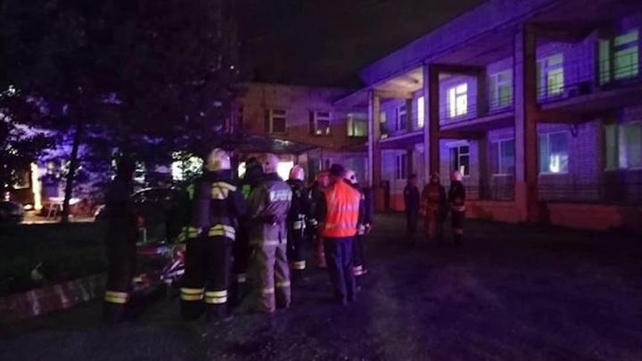 Причиной пожара в ярославской больнице стал забытый кипятильник