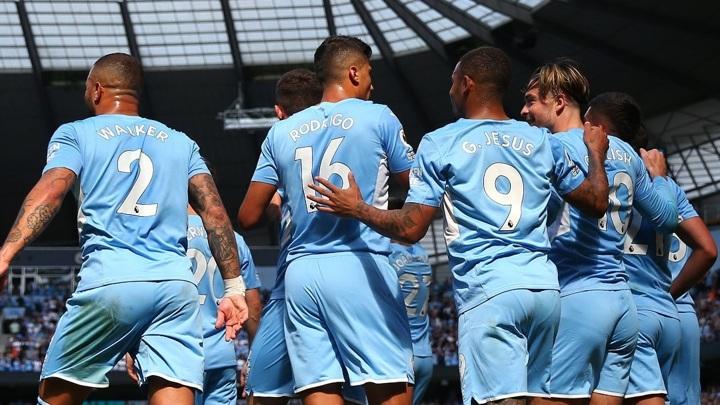 """Манчестер Сити"" отправил пять мячей в ворота ""Арсенала"""