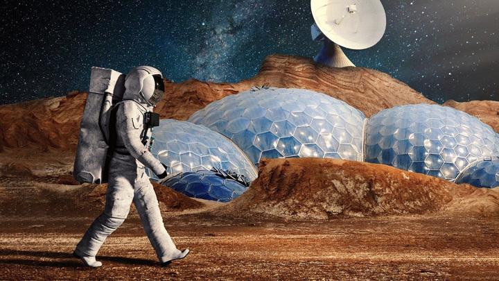 Главным препятствием для полёта людей на Красную планету является космическое излучение, исходящее из глубин Галактики.