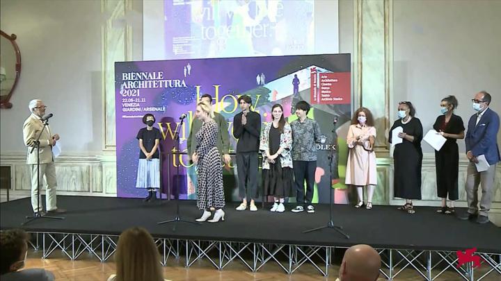В Венеции состоялась церемония вручения наград 17-й Венецианской архитектурной биеннале