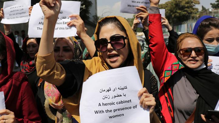 В Кабуле жестко разогнали активисток
