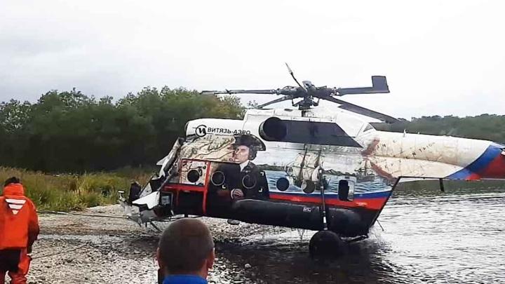 Самописец разбившего на Камчатке Ми-8 отправлен на расшифровку