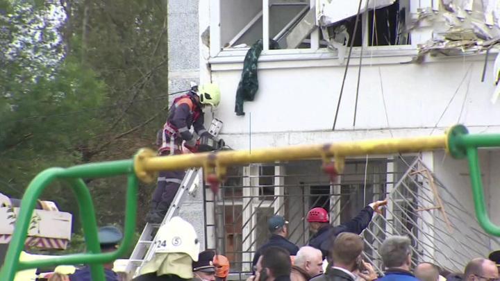 Поисково-спасательные работы в Ногинске завершены