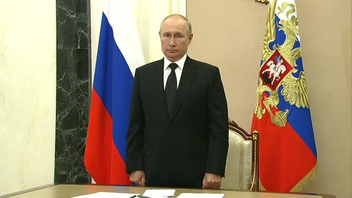 Путин выразил соболезнования всем, кто потерял близких в результате трагедии в Перми