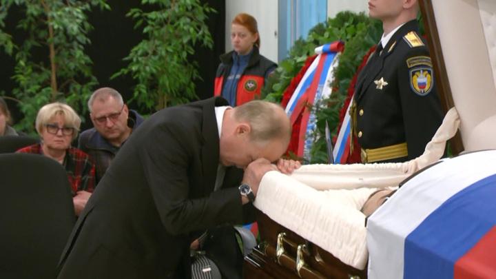 Владимир Путин простился с Евгением Зиничевым
