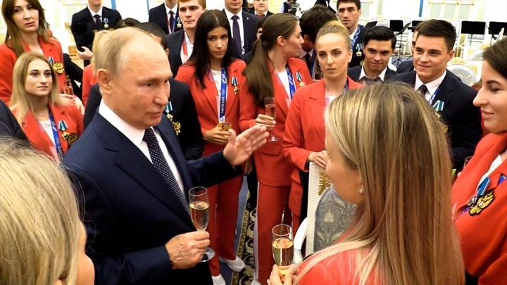Мощная генетика: Россия продемонстрировала на Играх огромную силу
