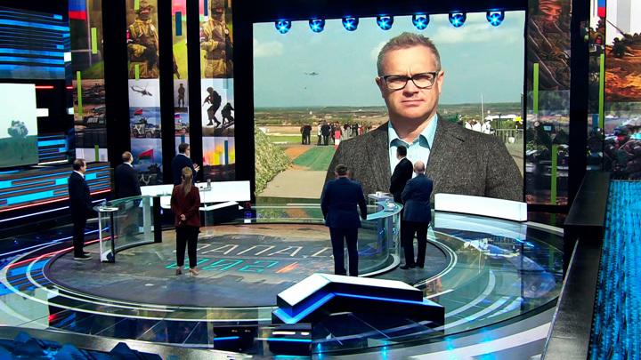 """Спецкор ВГТРК: в основном эпизоде учений """"Запад-2021"""" участвуют военные из 7 стран"""