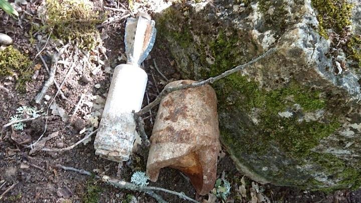 В Севастополе нашли британскую мину времен ВОВ
