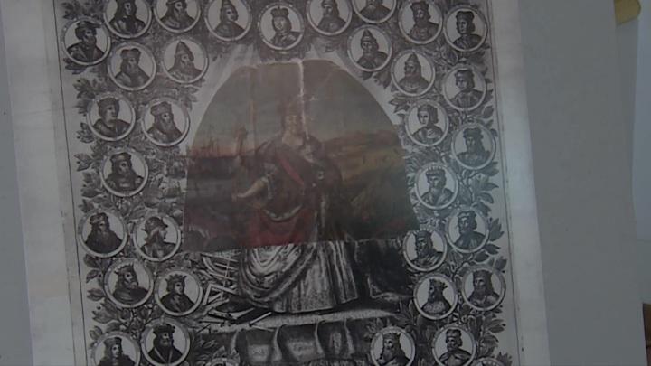 """В """"Царском селе"""" представили фрагмент прижизненного портрета Екатерины Первой"""