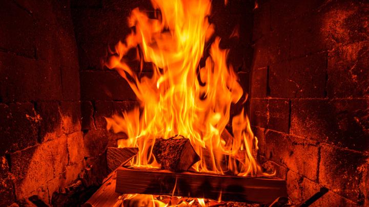В Амурской области при пожаре погиб мужчина