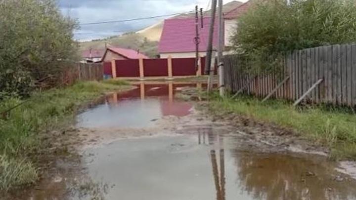 Пострадавшим от паводка жителям Бурятии оказывают финансовую помощь