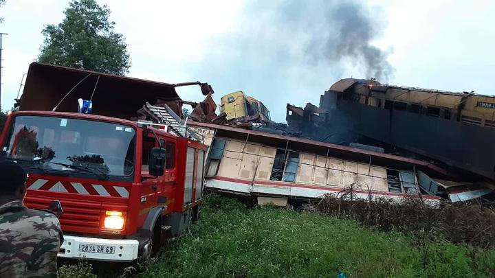 Количество пострадавших в столкновении поездов в Гвинее выросло до 8