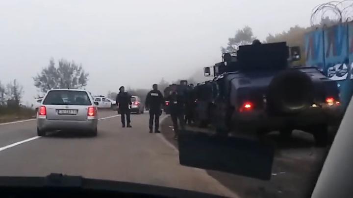 """КПП """"Ярине"""" блокировали из-за автономеров"""