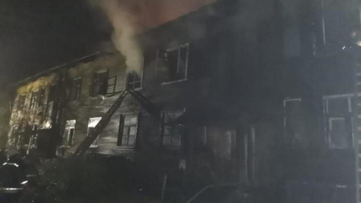 В Архангельске в пожаре на Кегострове погиб человек