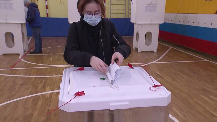 В Москве явка на думских выборах составила более 50%