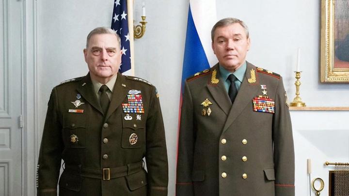 Валерий Герасимов и Марк Милли встретились в Хельсинки