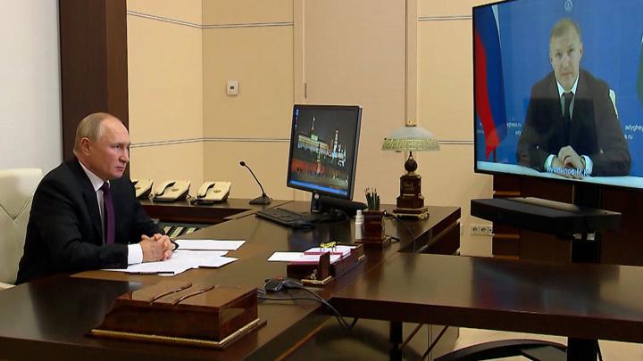 Владимир Путин поставил задачи перед властями Адыгеи