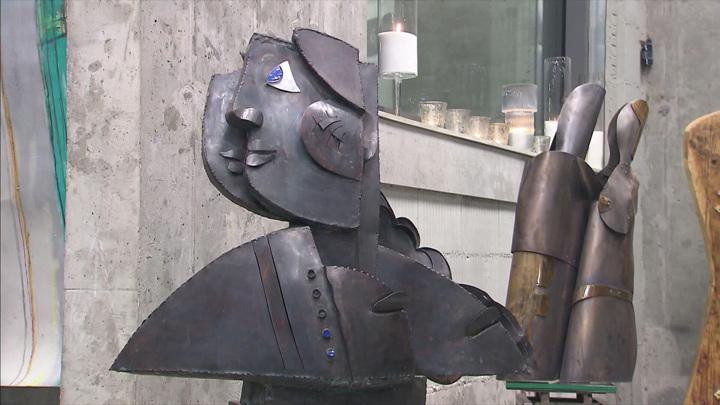 В центре Москвы открылась галерея скульптора Георгия Франгуляна