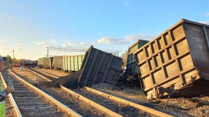 В железнодорожной аварии в Амурской области никто не пострадал
