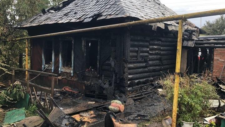 Миллион рублей ущерба: в Марий Эл мальчик доигрался со спичками и сжег дом