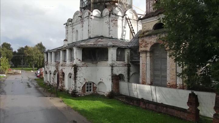 Храм Петра митрополита в Переславле-Залесском начали ремонтировать
