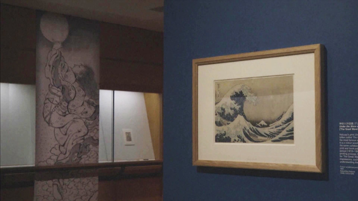 Британский музей демонстрирует более ста рисунков японского художника Кацусики Хокусая