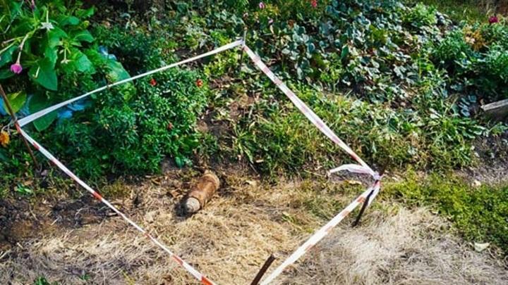 Житель Пензенской области нашел во дворе снаряд времен Первой мировой