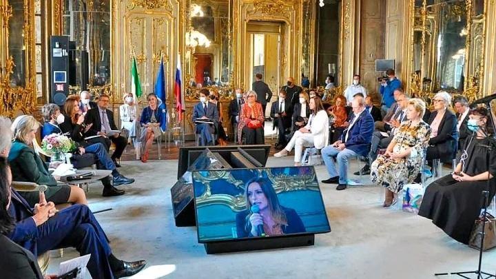 Представители Тульской области выступили на российско-итальянском Музейном саммите