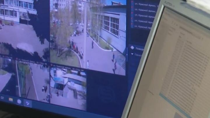 В Красноярске неизвестный напал на охранника школы