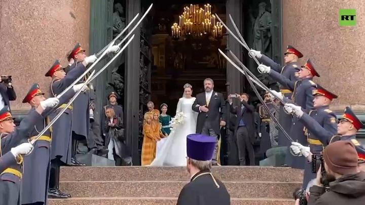 Дом Романовых: участие военных в церемонии венчания было согласовано