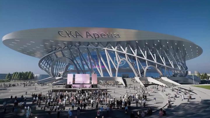 """Архитектор """"СКА Арены"""" впервые посетил стройплощадку крупнейшего стадиона"""