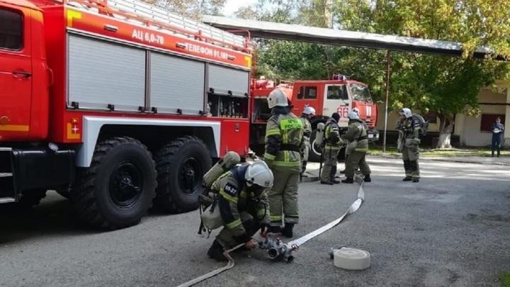 44 пациента больницы на Ставрополье эвакуированы из-за пожара