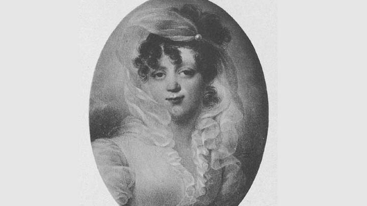 Графиня Мария Дмитриевна Нессельроде (художник Жан-Батист Изабе, 1814)