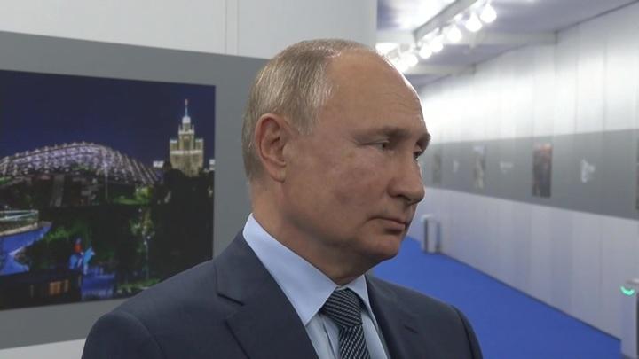 Путин: террористы из Афганистана могут начать экспансию в соседние страны