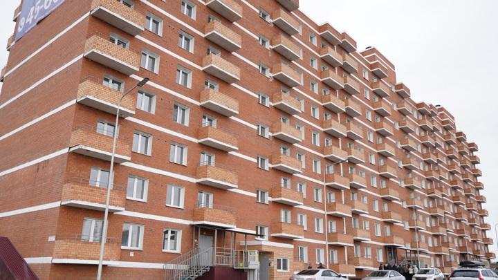 В Иркутске построили 240-квартирный дом для детей-сирот