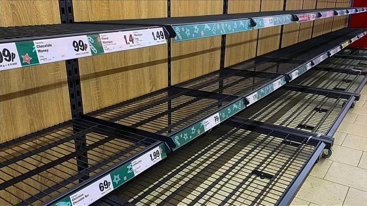 Из-за нехватки топлива в Британии разразился продовольственный кризис